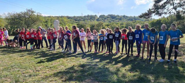 Odlični nastupi naših malih atletičara na krosu u Labinu!